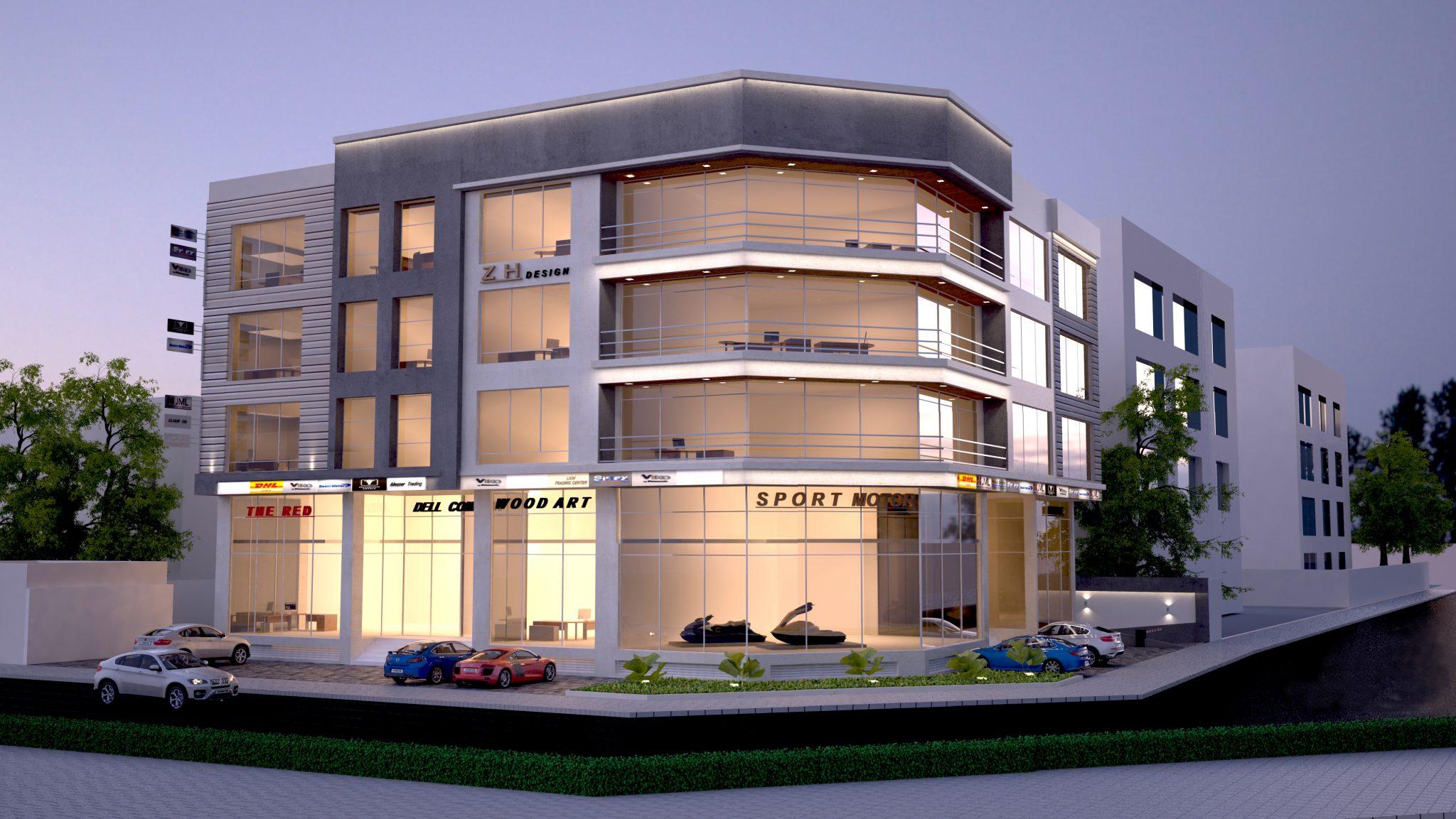 4 storey warehouse building at salmabad · 3